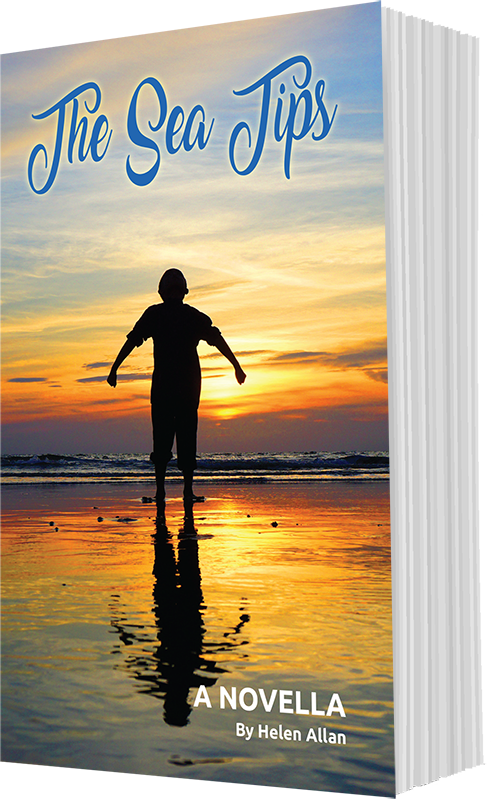 Book Cover Mockup THE SEA TIPS 3D PNG