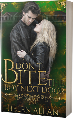 Don't Bite the Boy Next Door by Helen Allan