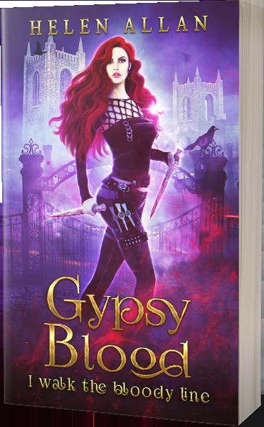 Gypsy Blood 2 I Walk The Bloody Line by Helen Allan