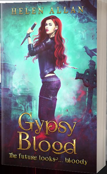 Gypsy Blood 3 The Future Looks... Bloody by Helen Allan