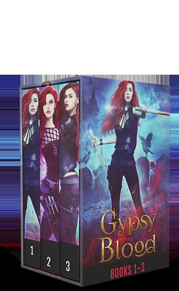 Gypsy Blood Boxset by Helen Allan