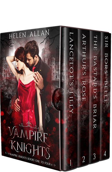 Vampire Knights Box Set by Helen Allan