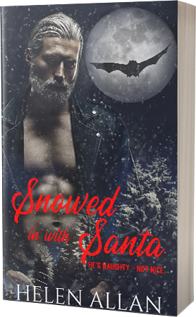 Snowed in with Santa by Helen Allan