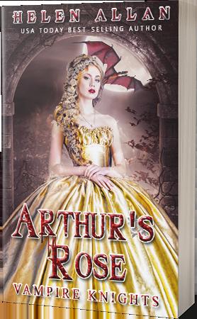 Vampire Knights 2 Arthur's Rose by Helen Allan